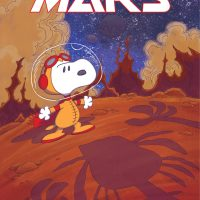 Your First Look at SNOOPY: A BEAGLE OF MARS...