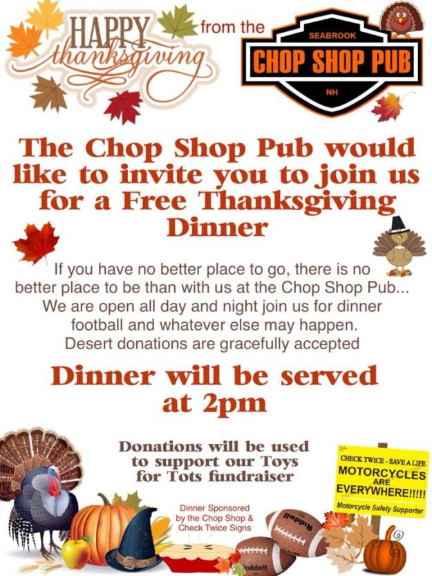 ChopShopThanksgivingFlyer