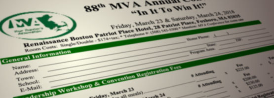 88th MVA Annual Convention Registration Forms