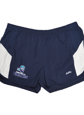 Pirates Primary Women's Jogger Shorts- Navy/White
