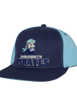Pirates Primary Snapback- Navy/Teal- By DESTROYER