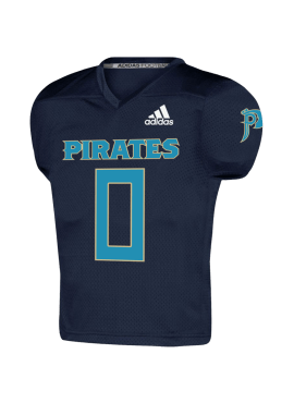 Pirates Replica Custom/Player Youth Home Jersey- Navy