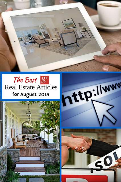 Best Google+ Real Estate Articles August 2015