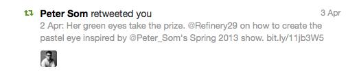 Peter Som RT