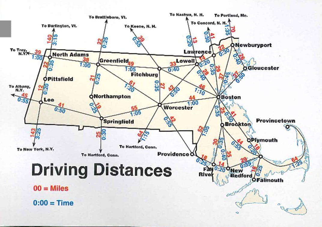 Maps Update #962612 Travel Distance Map  Maps Reveal How
