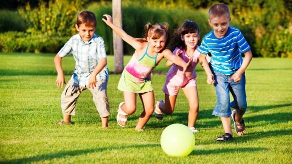 Sportoló gyerekek - gyermekmasszázs megoldások