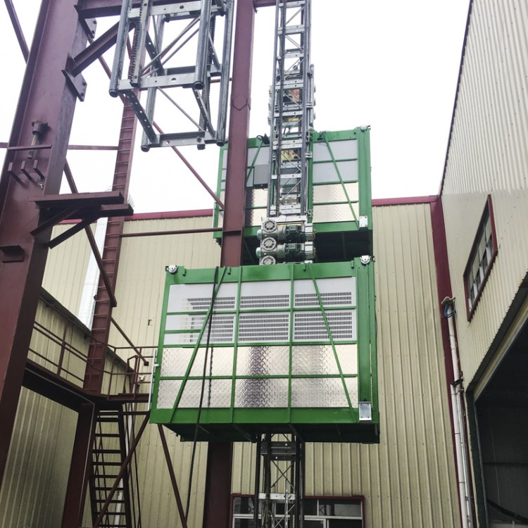 Standard Construction Hoist testing