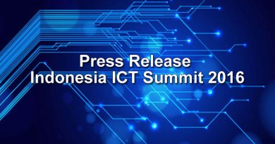 Press Release Indonesia ICT Summit 2016