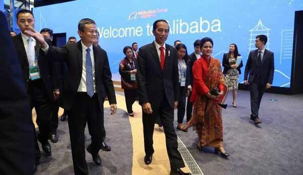 CEO Alibaba Group Jadi Penasihat Pembangunan E-commerce di Indonesia