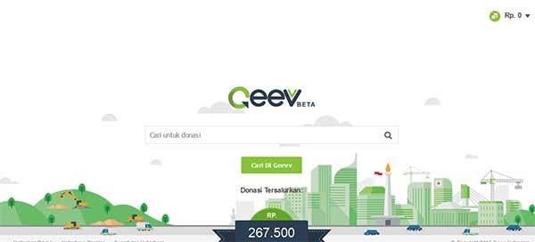 Geevv Mesin Pencari Yang Ajak Penggunanya Jadi Aktivis Sosial
