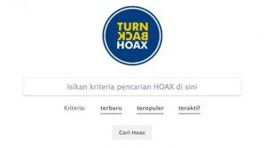 Gunakan Aplikasi Turn Back Hoax Untuk Laporkan Hoax