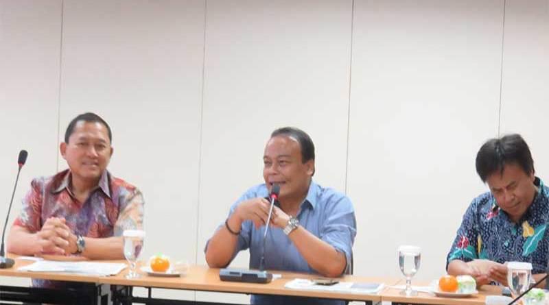 Eratkan Kerjasama MASTEL lakukan Kunjungan Ke Bisnis Indonesia