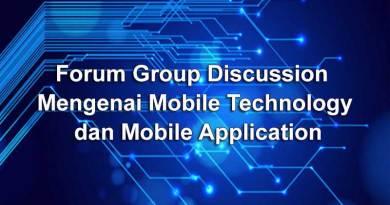 FGD Mengenai Mobile Technology dan Mobile Application