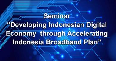 Developing Indonesian Digital Economy through Accelerating Indonesia Broadband Plan