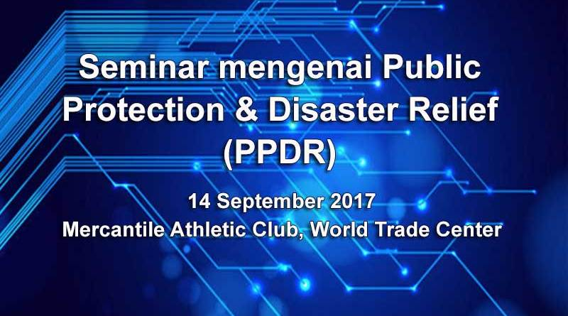Seminar mengenai Public Protection & Disaster Relief
