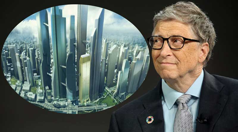Wah! Bill Gates Bangun Smart City Masa Depan