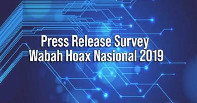 Press Release Wabah Hoax Nasional 2019