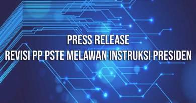 Revisi PP PSTE Melawan Instruksi Presiden