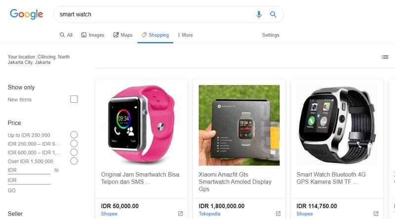 Desain Baru Google Shopping Mudahkan Hubungan UMKM dan Konsumen