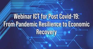 Webinar ICT for Post Covid-19 tanggal 25 Juni 2020