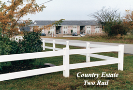 Country Estate Two Rail