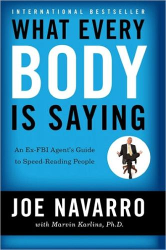 Cover page of What Every Body Is Saying: An Ex-FBI Agent's Guide to Speed-Reading People by Joe Navarro