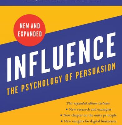 Cover page of Influence The Psychology of Persuasion New And Expanded By Robert Cialdini