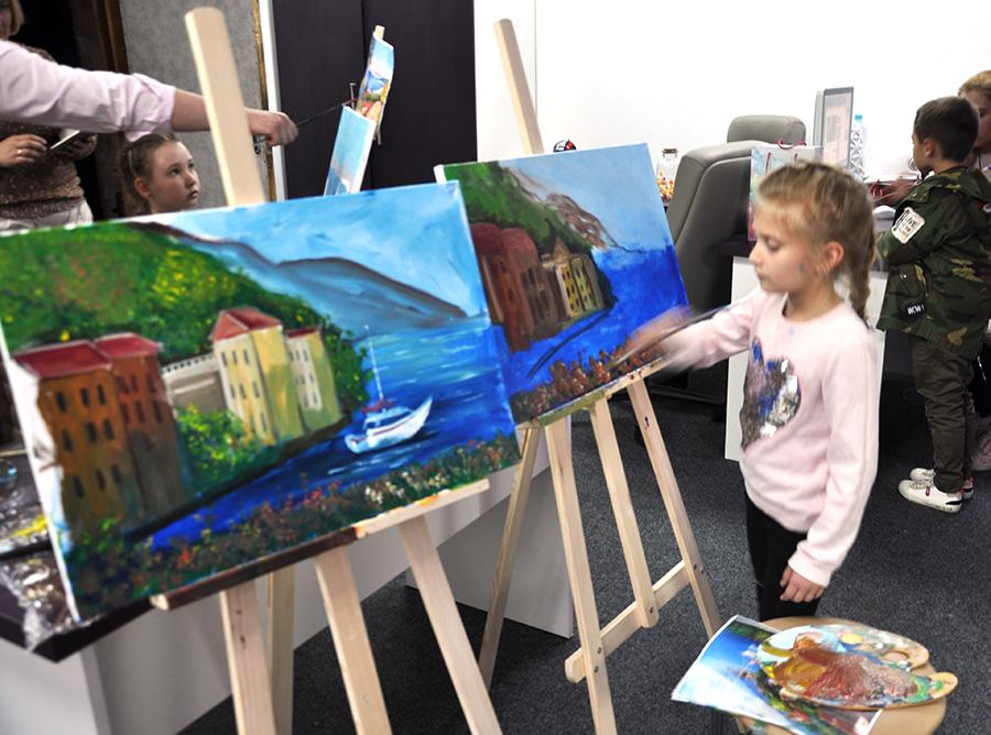 рисования с художником для детей в киеве