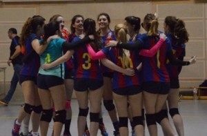 This year, Isabella has fulfilled her dream of studying full time while playing on CVB Barca volleyball team.