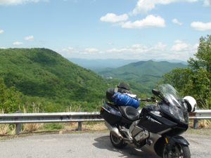 Smokey Mts. from the Cherohala Skyway