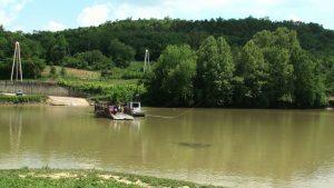 Ferry across the Kentucky River