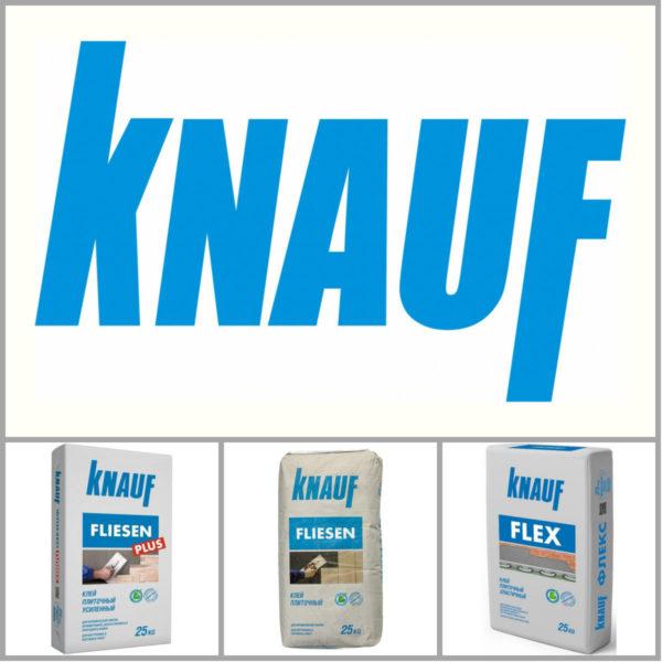 Formulazioni di installazione di Knauff