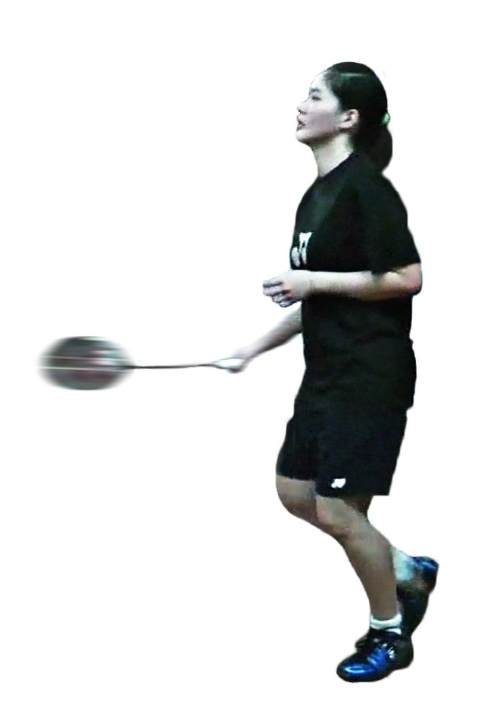 Cara Backhand Badminton : backhand, badminton, Badminton