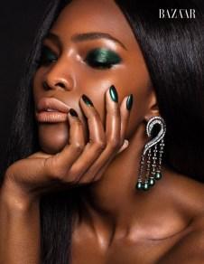 Model: @mameadjei, Makeup: @vladamua, Hair: @thebraidsfactory, Nails: @ktstyle.nails, Jewelry: @rljewel, Photo & post: @juliakuzmenko
