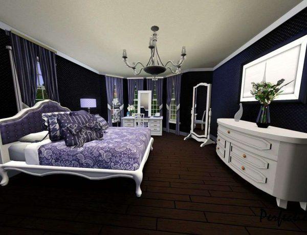 purple bedrooms master bedroom ideas