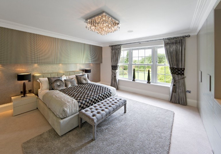 Master Bedrooms with Breathtaking Chandeliers  Master