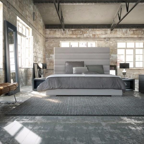 industrial grey bedroom 10 Phenomenal Industrial Bedroom Designs – Master Bedroom Ideas
