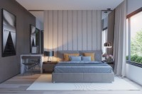 Grey Master Bedrooms With A Glimpse Of Color  Master ...
