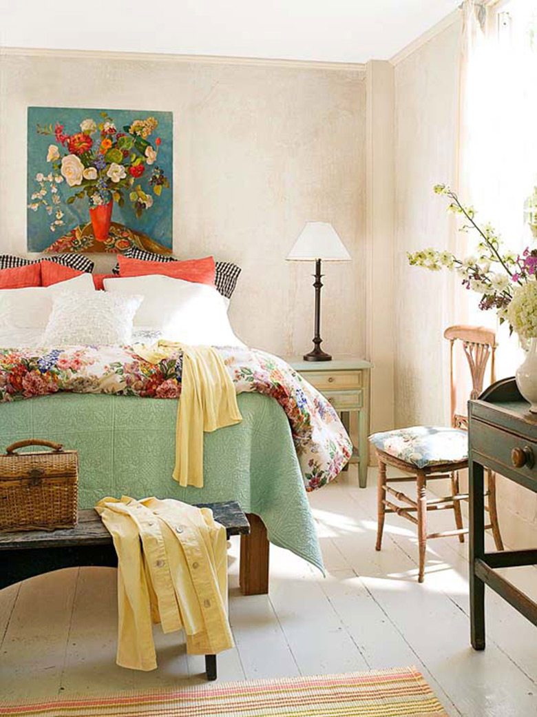 Cozy Bedroom Dcor In Farmhouse Style Master Bedroom Ideas