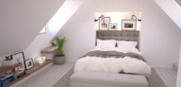 Loft Interiors With Marvelous Bedrooms  Master Bedroom Ideas