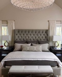 Sublime Tufted Headboards for Master Bedroom Dcor ...
