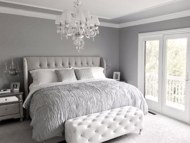 10 Calm And Charming All White Bedrooms