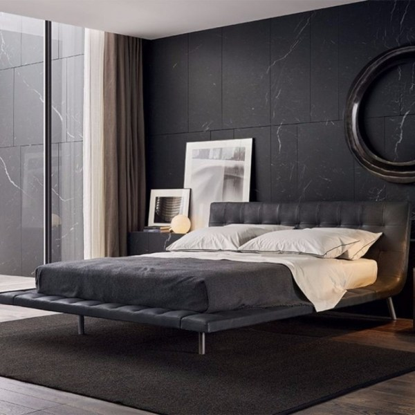dark bedroom wall idea Elegance & Luxury with Dark Bedroom Designs – Master