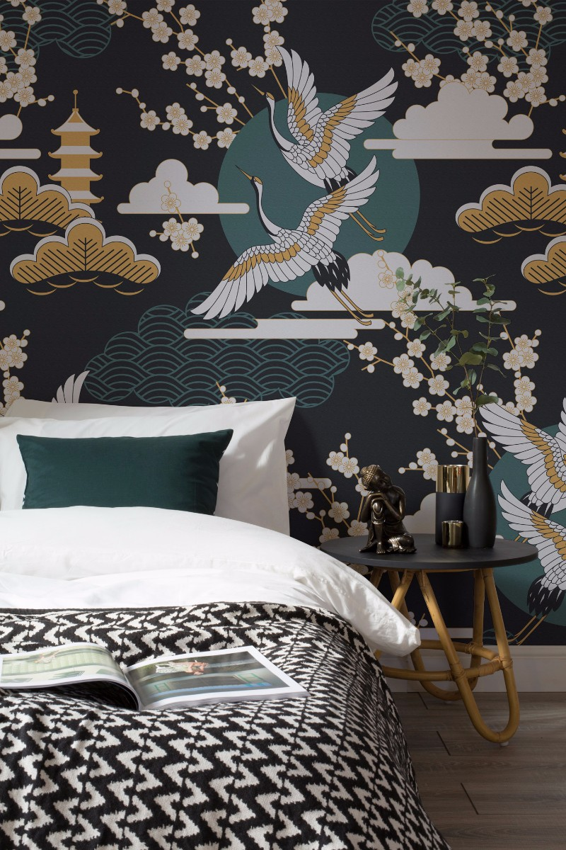 Fall Rug Wallpaper Design Wallpaper Ideas For Modern Master Bedrooms Master