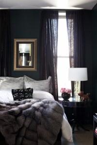 Elegance & Luxury with Dark Bedroom Designs  Master ...