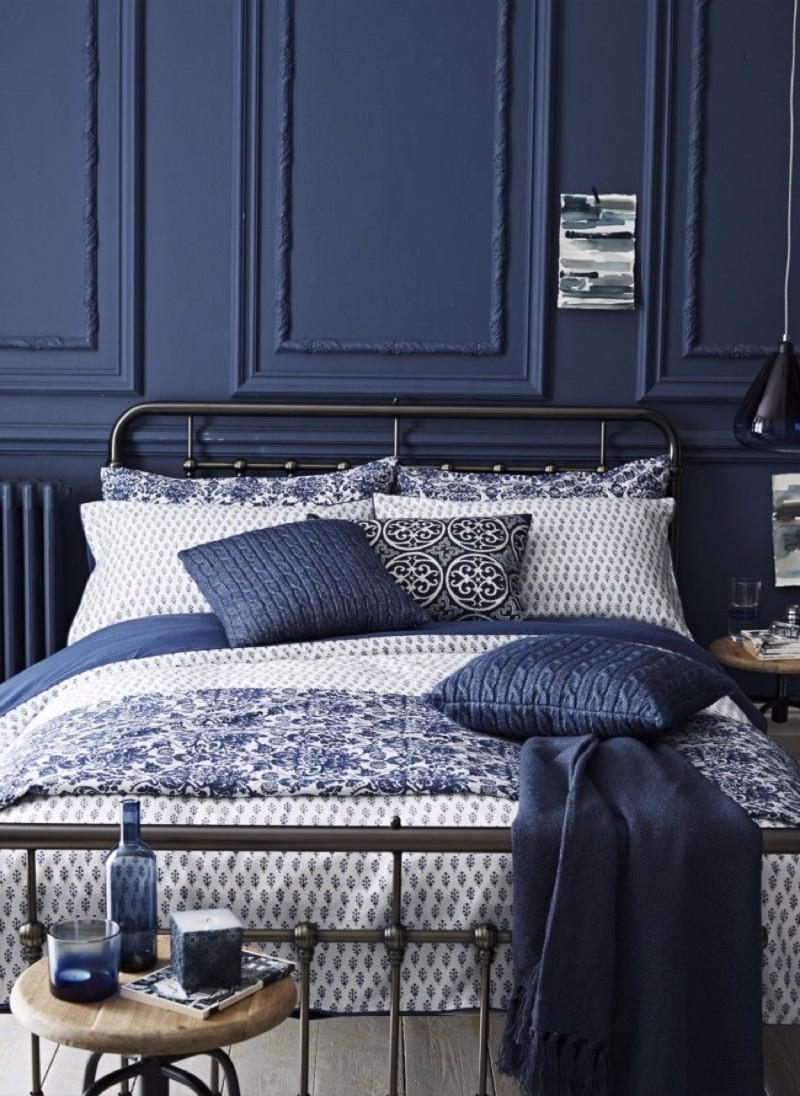 10 Charming Navy Blue Bedroom Ideas  Master Bedroom Ideas