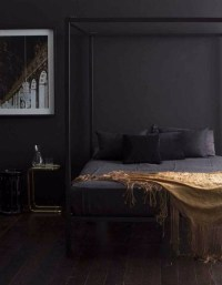 Elegance & Luxury with Dark Bedroom Designs  Master ...
