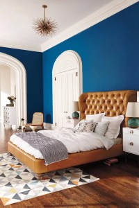 10 Charming Navy Blue Bedroom Ideas  Master Bedroom Ideas
