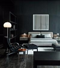 10 Sharp Black and White Bedroom Designs  Master Bedroom ...