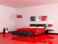10 Contemporary Red and Black Bedrooms  Master Bedroom Ideas